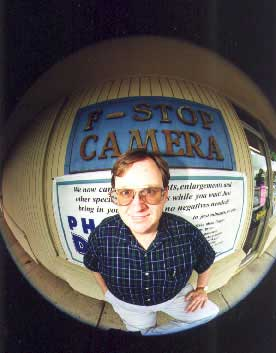 Playing with a 8 mm Nikkor Fisheye Lens