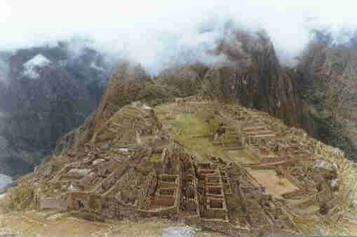 Machu Picchu - Nikon FTN - 21mm 1981 by Louis Albert